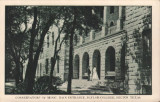 Conservatory of Music, Main Entrance, Baylor College, Belton, Texas